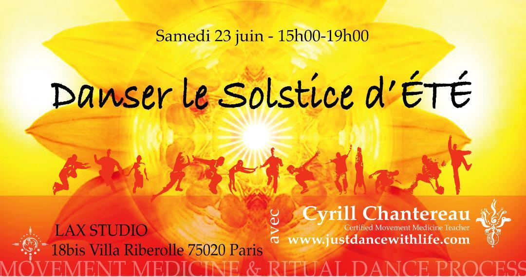 Danse médecine : danser le solstice d'été 23/06/18