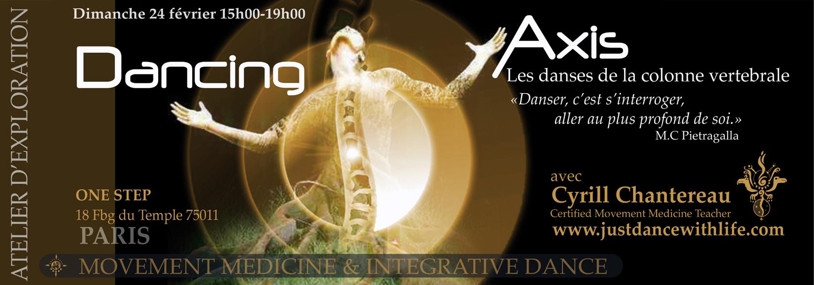 Danse Médecine – Dancing Axis 24/02/19